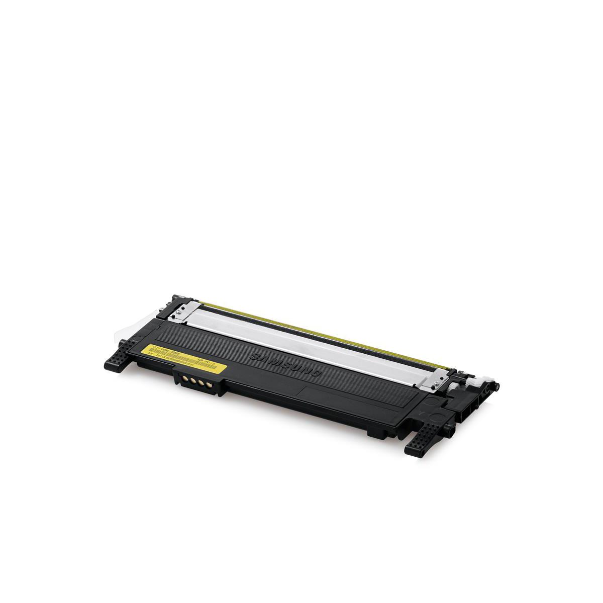 Samsung CLT-Y406S Laser Toner Cartridge Page Life 1000pp Yellow Ref SU462A