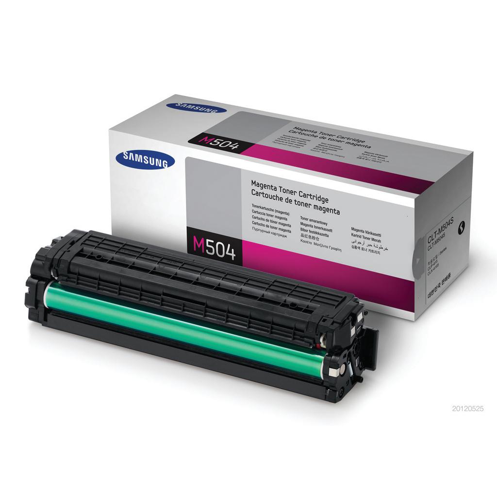 Samsung CLT-M504S Laser Toner Cartridge Page Life 1800pp Magenta Ref SU292A