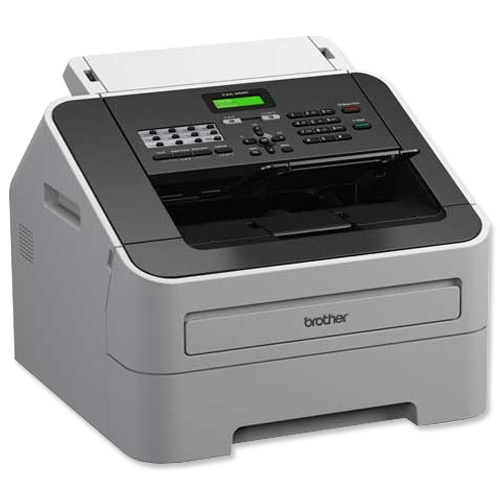 Image for Brother FAX-2940 High-Speed Laser Fax Machine White FAX2940ZU1