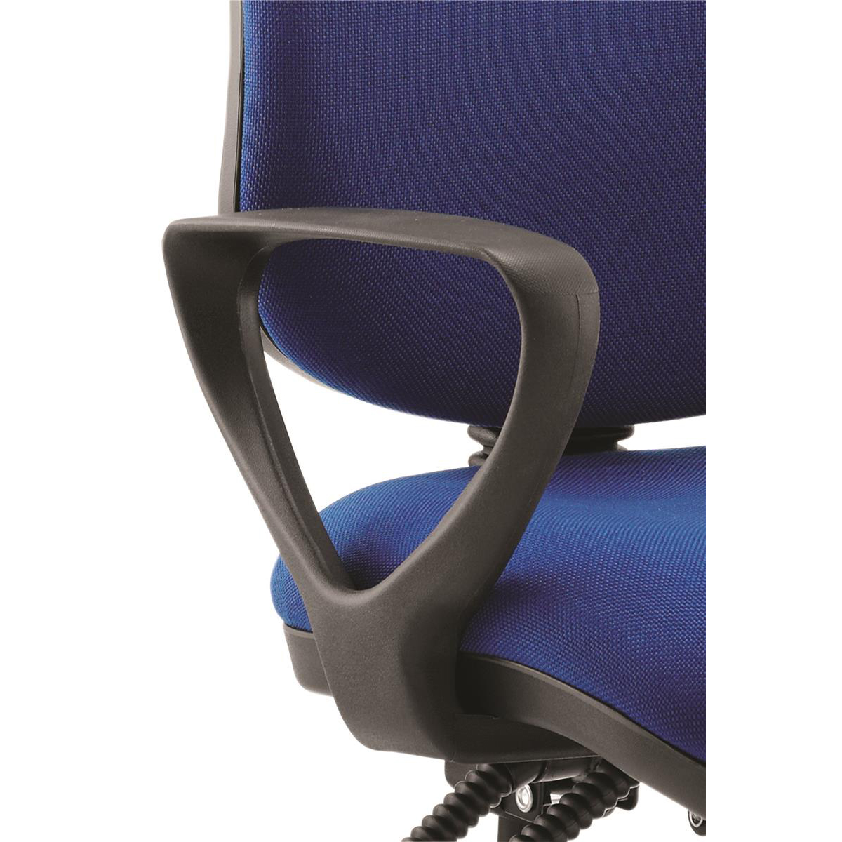 Trexus Fixed Chair Arms Black Ref 101195 Pair