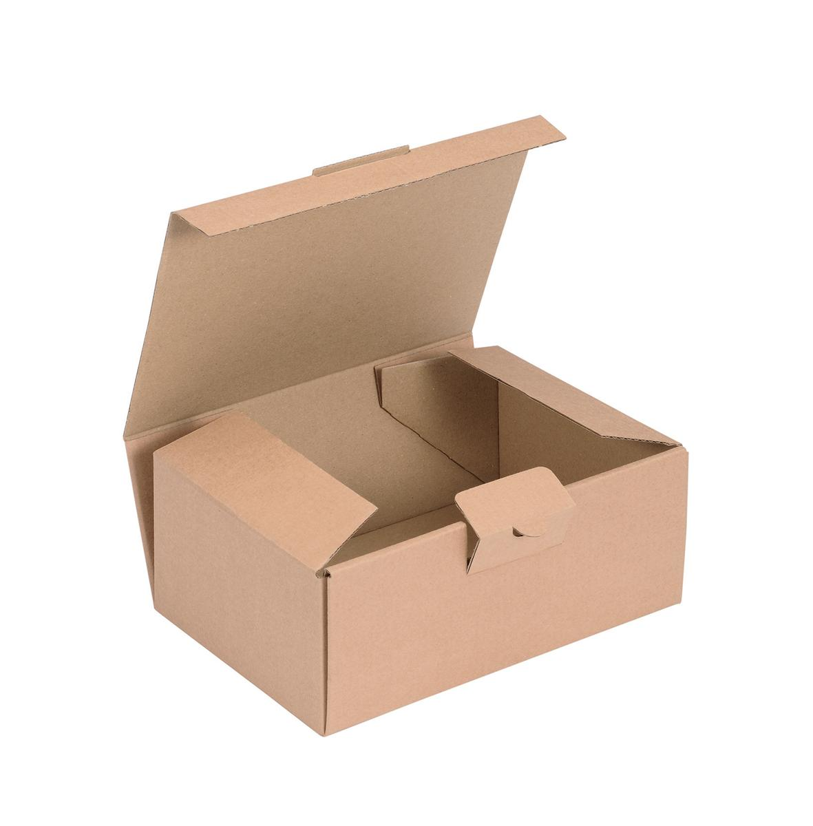 Image for Easi Mailer Kraft Mailing Box W190xD131xH76mm Brown [Pack 20]