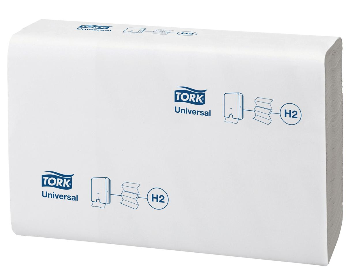 Tork Xpress Hand Towel Z-Fold Strong Absorbent 1-Ply 250 Sheets White Ref 295938 [Pack 12]