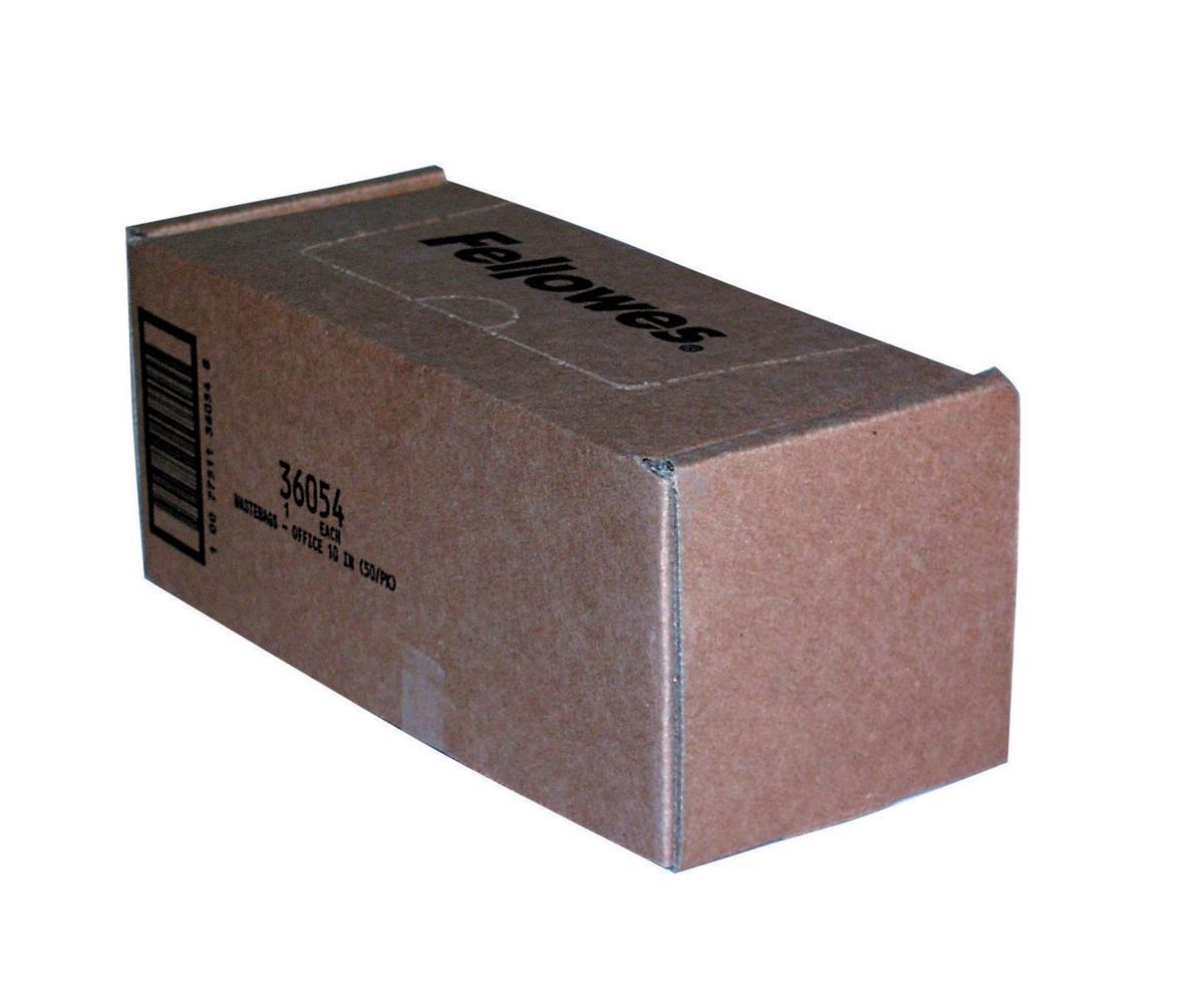 Fellowes Shredder Bags Capacity 53-75 Litre [for SB-97Cs and C-120 C-220 Series] Ref 36054 [Pack 50]