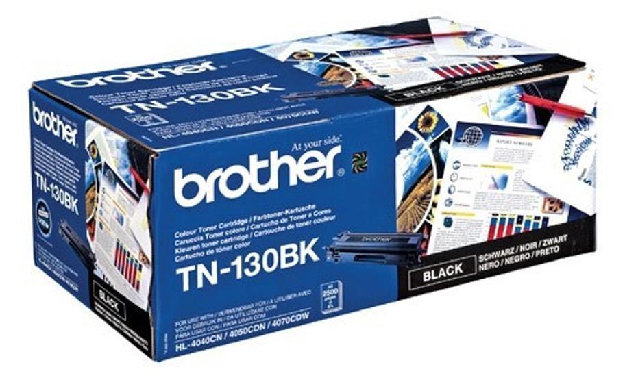 Brother Laser Toner Cartridge Page Life 2500pp Black Ref TN130BK