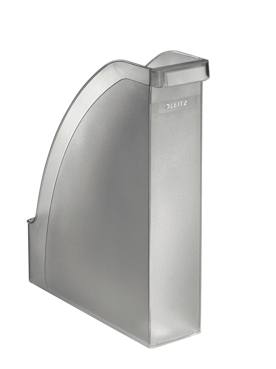 Leitz Magazine File Extra Capacity A4 Clear Ref 24760003