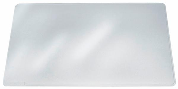 Image for Durable Duraglas Desk Mat Transparent Anti-glare W530xD400mm Ref 7112/19