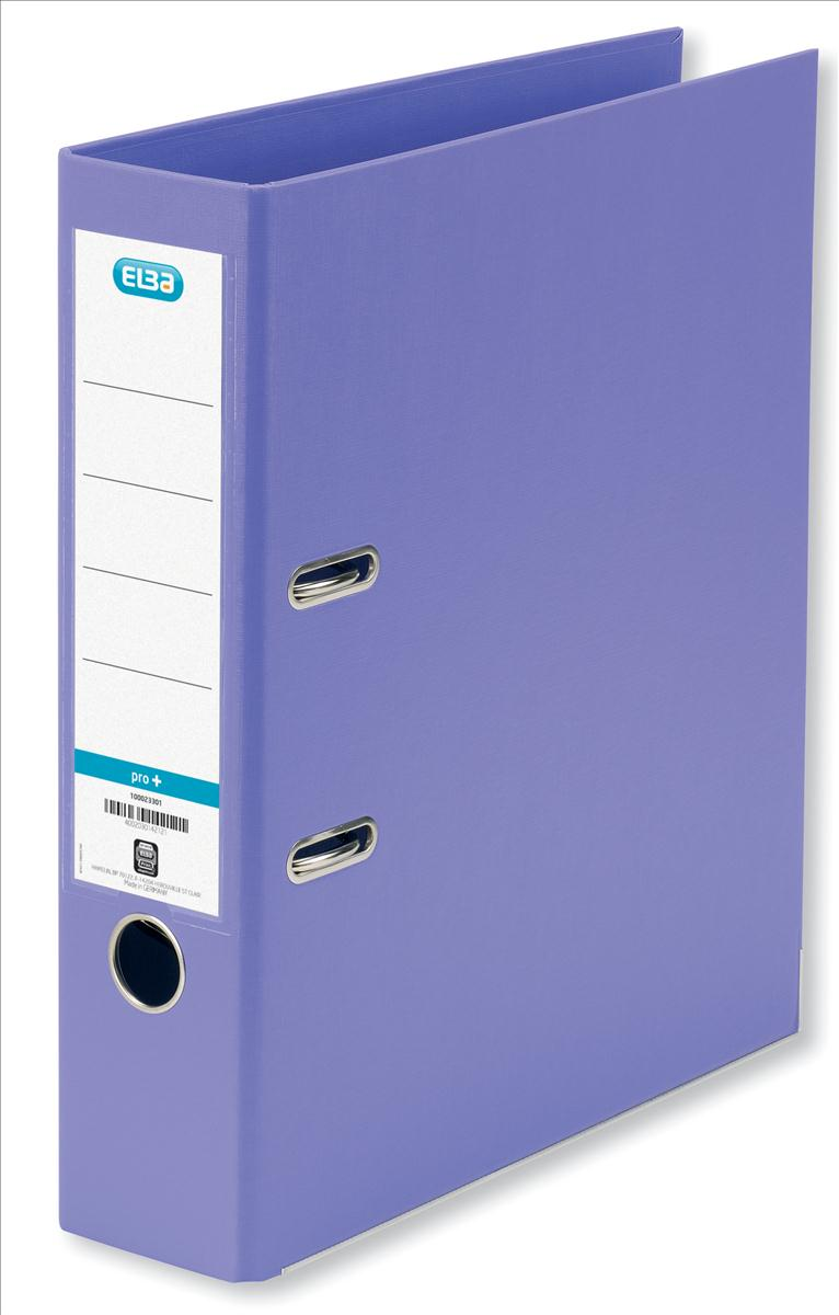 Elba Lever Arch File PVC 70mm Spine A4 Purple Ref 100202167 [Pack 10]