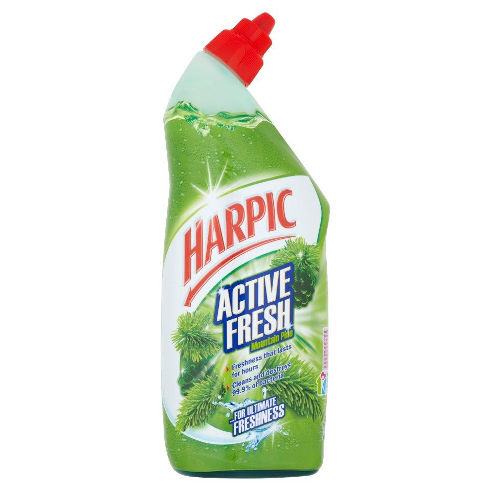 Harpic Active Toilet Cleaning Gel Fresh Power Pine 750ml Ref 0267350