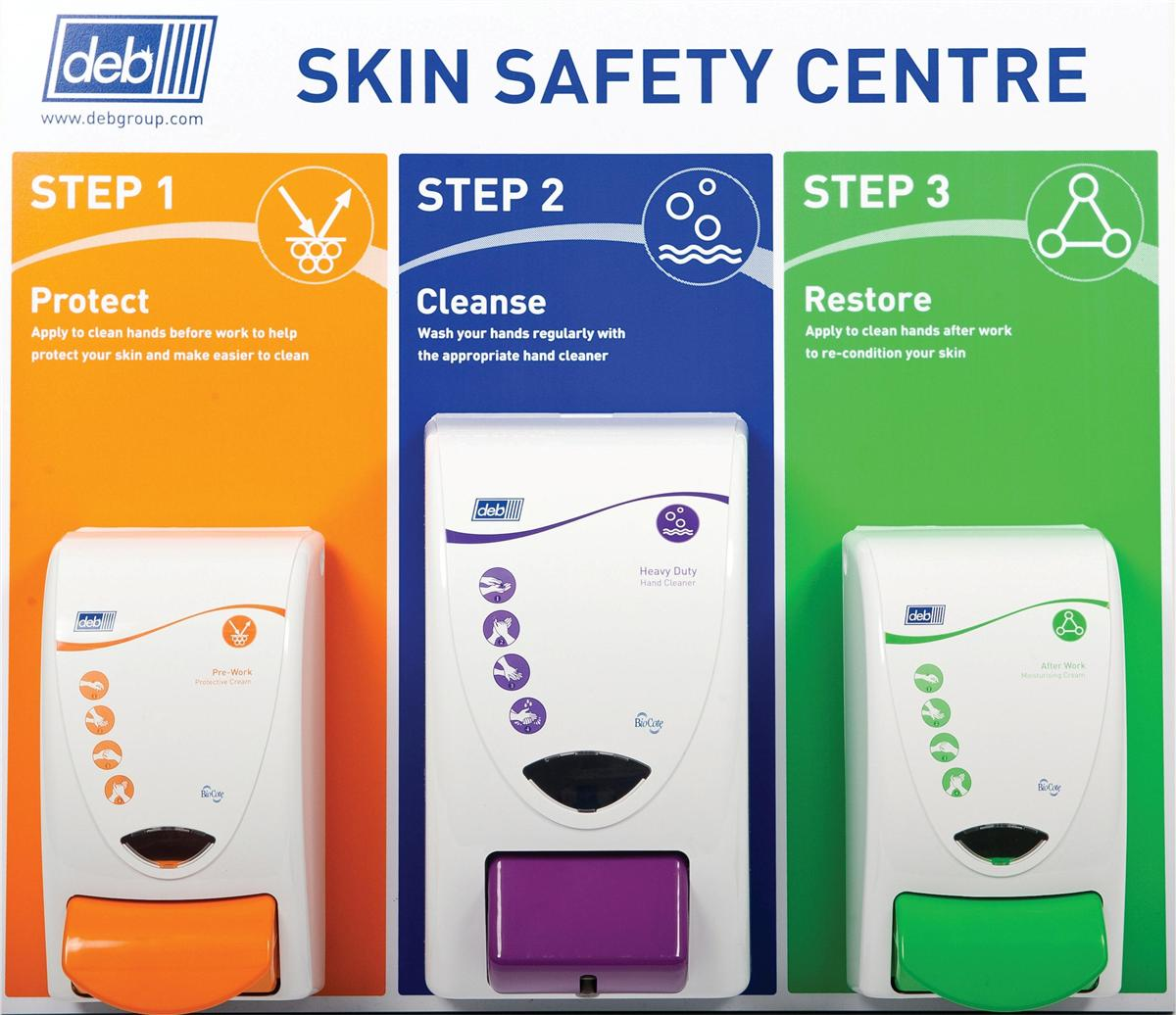 DEB Safety Skin Centre Protect Cleanse Restore Heavy Duty Wash Ref N03854