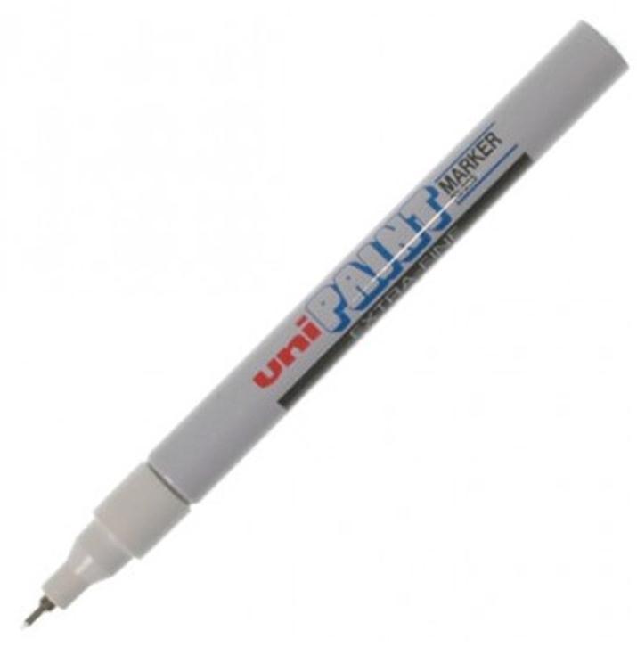 uni Paint Marker Bullet Tip Needlepoint PX203 Line Width 0.8mm White Ref 508341000 [Pack 12]