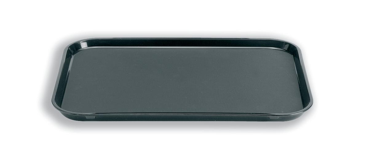Tray Non Slip Polypropylene Dishwasher Safe W390xD290mm Black