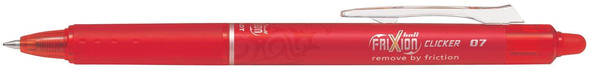 Pilot FriXion Clicker Rollerball Retractable Erasable 0.7 Tip 0.35mm Line Red Ref 229101202 [Pack 12]