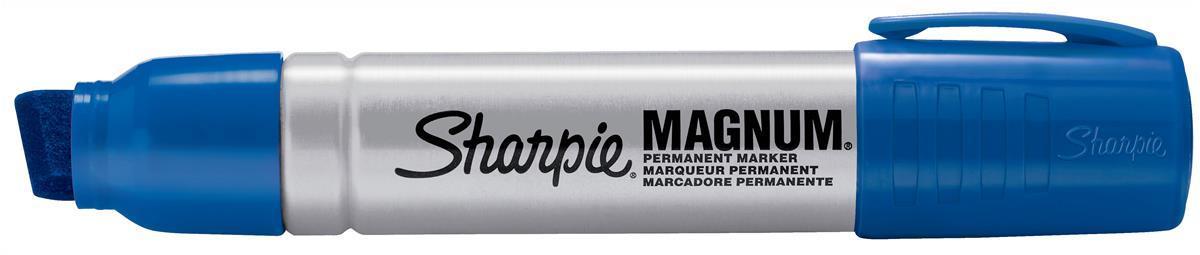 sharpie magnum metal permanent marker large chisel tip 14 8mm line