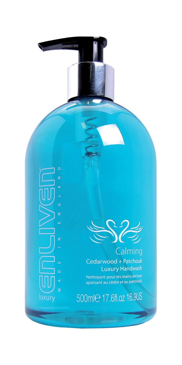 Enliven Luxury Handwash Calming Formula Cedarwood and Patchouli Blend 500ml Ref 502328