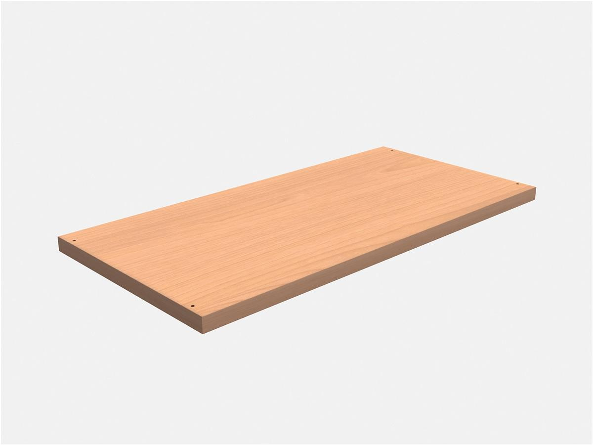 Image for Trexus Extra shelf for Trexus Cupboards and Bookcase W764xD402xH25mm Beech