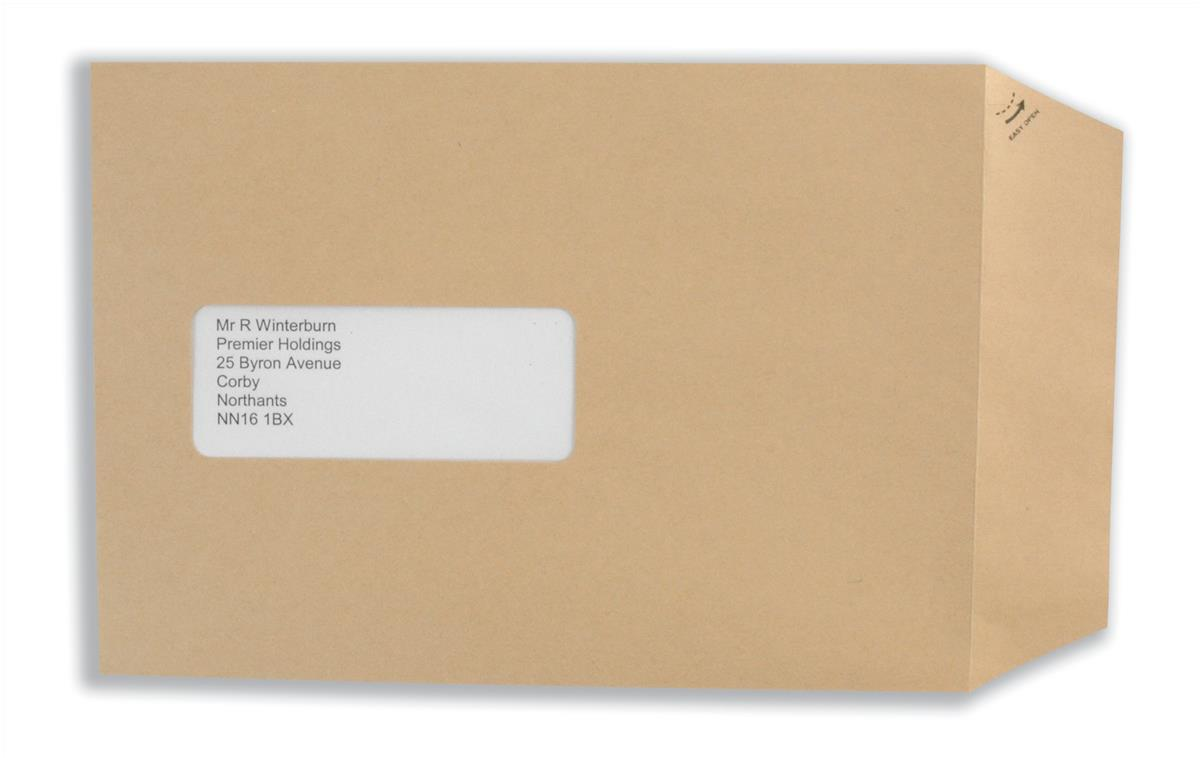 Basildon Bond Envelopes Pocket Peel and Seal Window 90gsm Manilla C5 Ref E80190 [Pack 500]