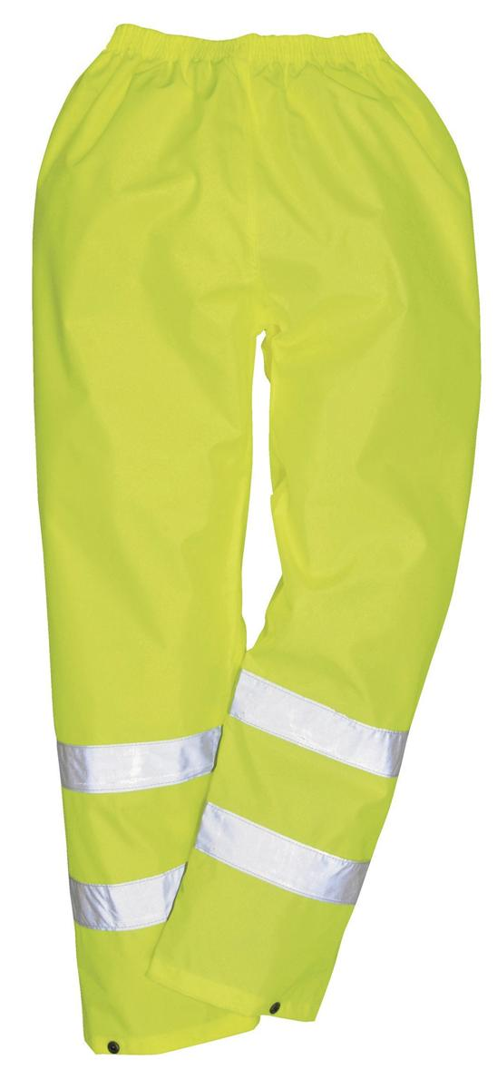 Image for Portwest High Visibility Trousers EN343 Class 3 Protection Large Yellow Ref S480LGE