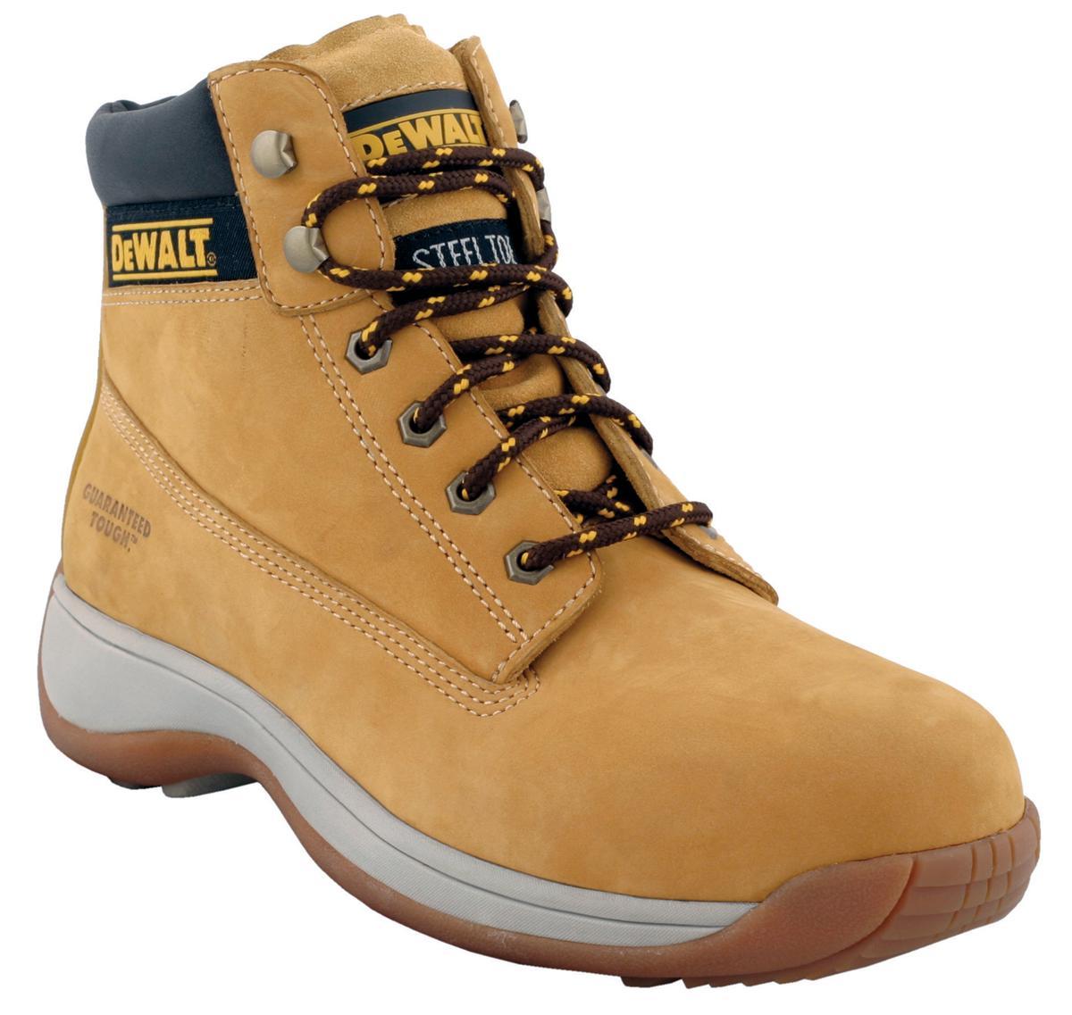 Dewalt Hiker Boots Nubuck Shock-absorbent Chemical-resistant Size 12 Wheat Ref Apprentice 12