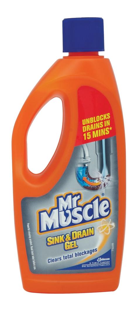Mr Muscle Sink and Plug Cleaner Gel 500ml Ref 94851