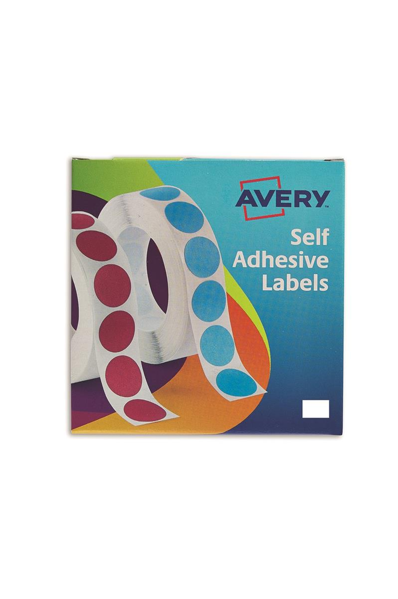 Avery Label Dispenser for 12x18mm White Ref 24-415 [2000 Labels]