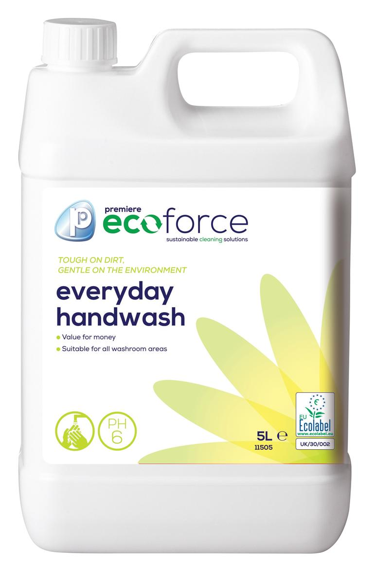 Ecoforce Handwash 5 Litre Ref 11505 [Pack 2]