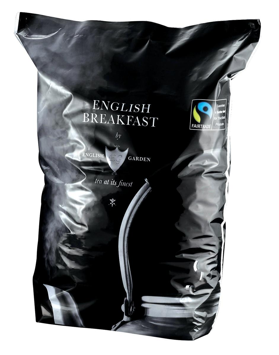 English Garden Breakfast Tea Bags One-cup Fairtrade Ref A06976 [Pack 1100]