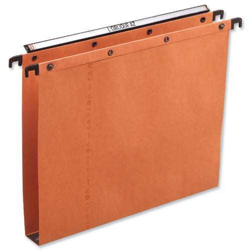 Elba AZV Ultimate A20 Suspension File Manilla 30mm Foolscap Orange Ref 100330314 [Pack 25]