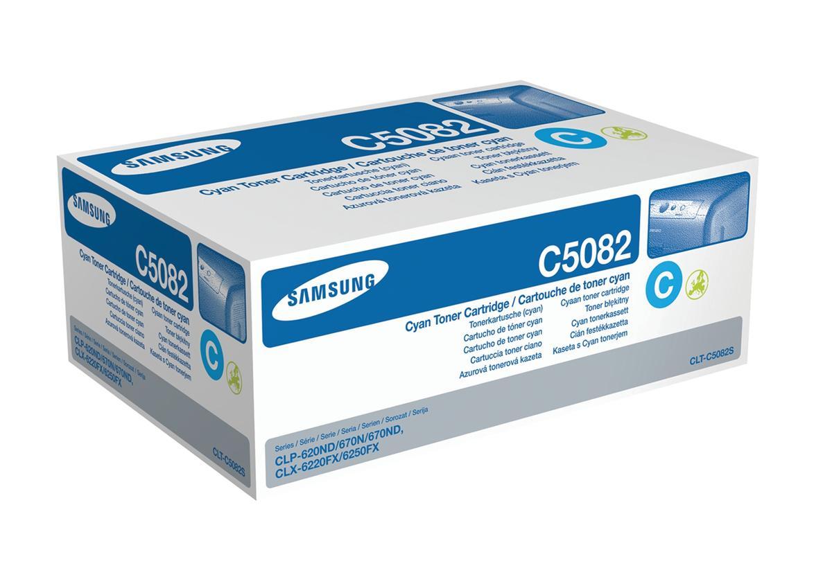 Samsung Laser Toner Cartridge Page Life 2000pp Cyan Ref CLT-C5082S/ELS