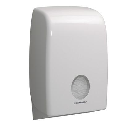 Kimberly-Clark Aquarius Hand Towel Dispenser W265xD136xH399mm White Ref 6945