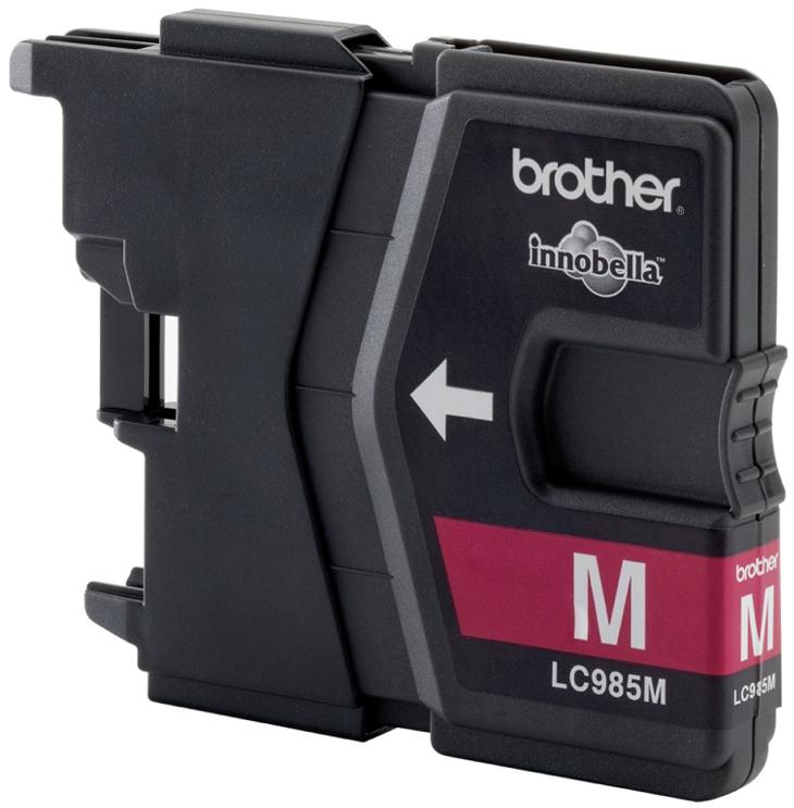 Brother Inkjet Cartridge Page Life 260pp Magenta Ref LC985M