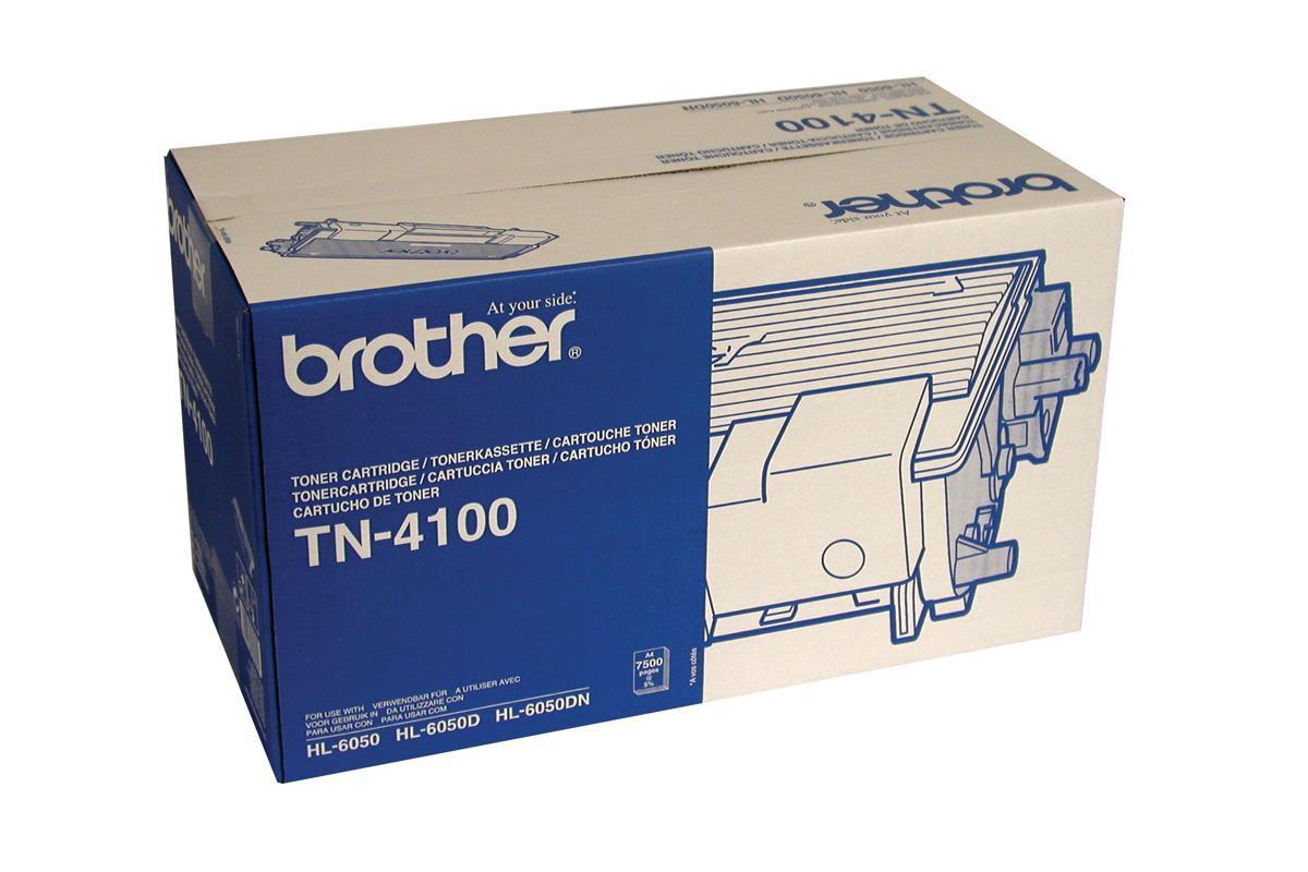 Brother Laser Toner Cartridge Black Ref TN4100