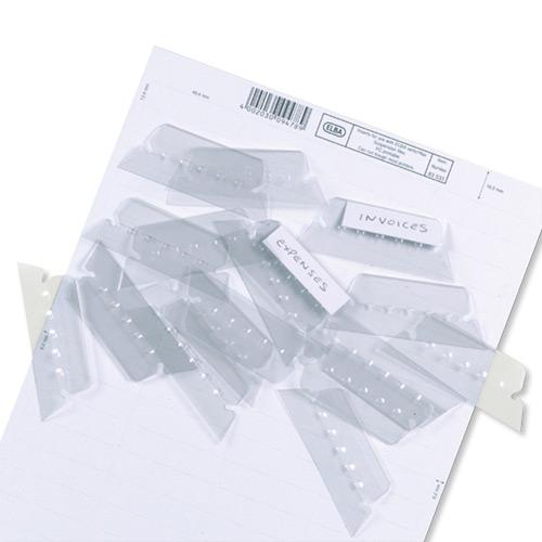 Elba Verticflex Card Inserts for Suspension File Tabs Ref 100330218 [Pack 800]