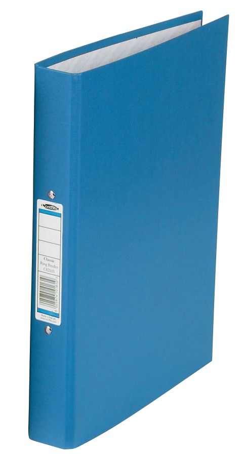 Concord Classic Ring Binder 2 O-Ring Capacity 25mm A4 Blue Ref C82103 [Pack 10]