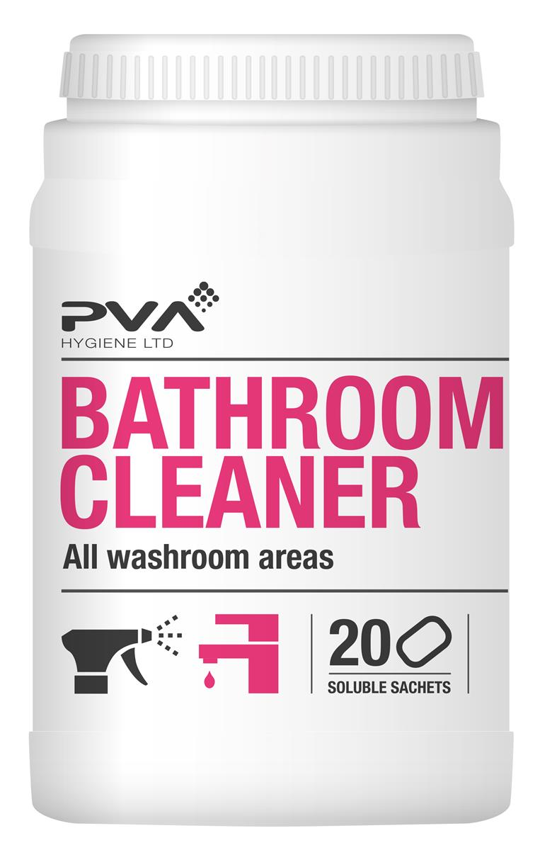 PVA Bathroom & Limescale Cleaner Sachets Ref 4018025 [Pack 20]