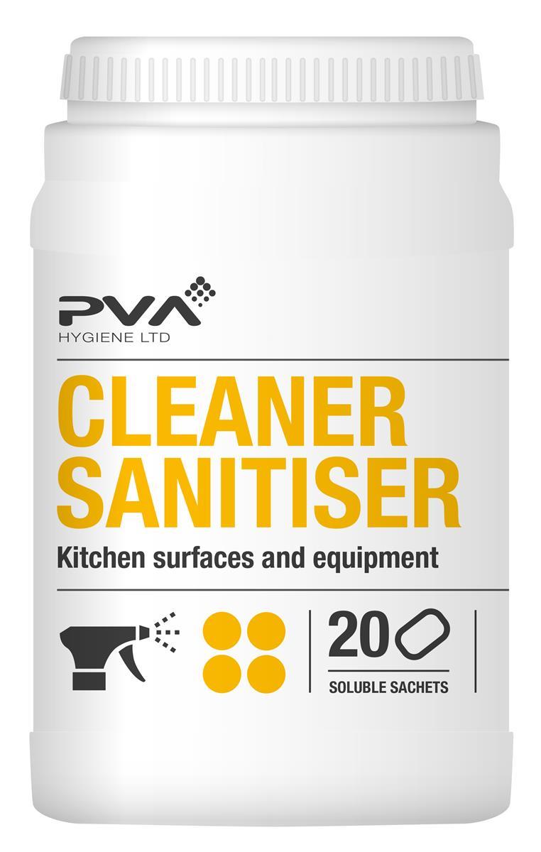 PVA Food Safe Sanitiser Sachets Ref 4017990 [Pack 20]
