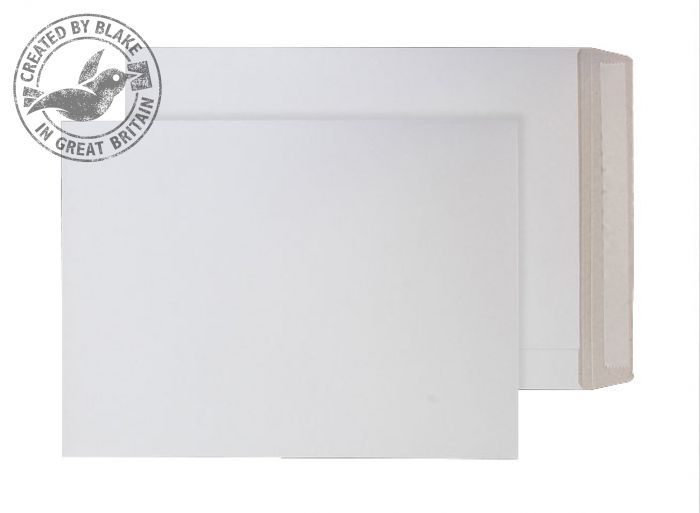 Purely Packaging Envelope All Board P&S 350gsm 352x250mm White Ref PPA15 [Pk 100] *3 to 5 Day Leadtime*