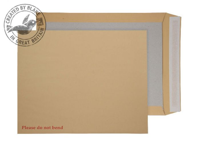 Purely Packaging Envelope Board Backed P&S 394x318mm Manilla Ref 15935 [Pack 125] *3 to 5 Day Leadtime*
