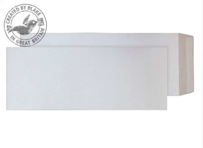 Purely Packaging Envelope All Board P&S 350gsm 460x185mm White Ref PPA14 [Pk 100] *3 to 5 Day Leadtime*
