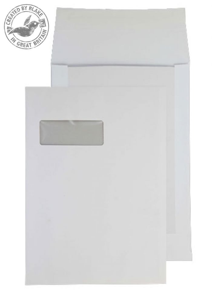 Purely Packaging Envelope Board Backed P&S 150gsm C4 White Ref 12901 [Pack 125] *3 to 5 Day Leadtime*