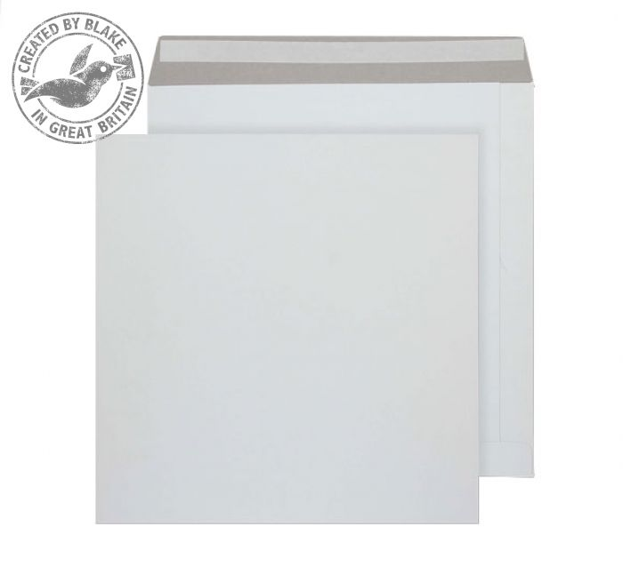 Purely Packaging Envelope All Board P&S 350gsm 340x340mm White Ref PPA13 [Pk 100] *3 to 5 Day Leadtime*