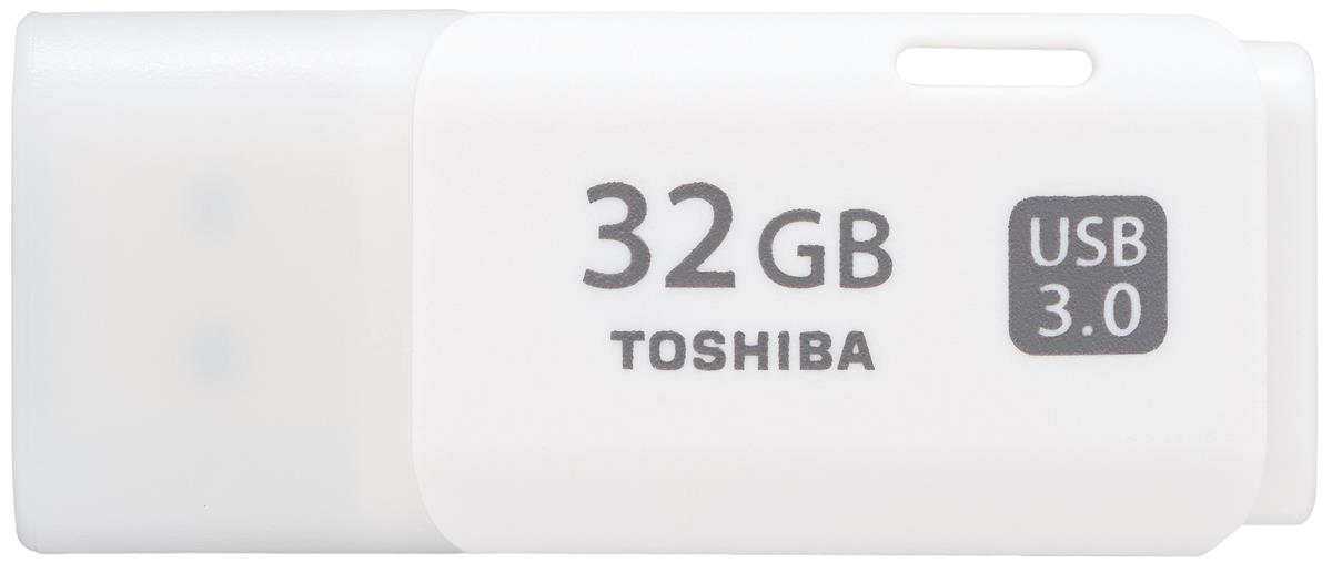 Toshiba TransMemory Flash Drive USB 3.0 32GB White Ref THN-U301W0320E4