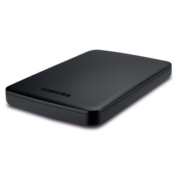 Toshiba Canvio Basics Hard Drive USB 3.0 and 2.0 Compatible 3TB Black Ref HDTB330EK3CA