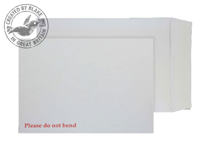 Purely Packaging Envelope Board Backed P&S 241x178mm White Ref 6112 [Pack 125] *3 to 5 Day Leadtime*