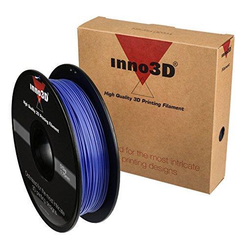 Inno3D PLA Filament for 3D Printer 1.75x200mm 0.5kg Blue Ref 3DPFP175BL05