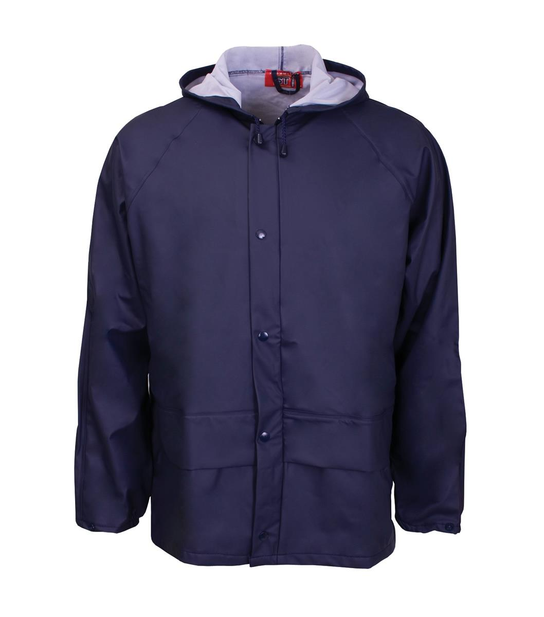 Supertouch Storm-Flex PU Jacket Large Blue Ref 18913 *Approx 3 Day Leadtime*