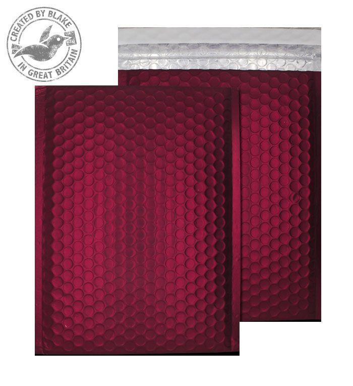 Purely Packaging Bubble Envelope P&S C5+ Matt Metallic Wine Ref MTWR250 [Pk 100] *3 to 5 Day Leadtime*