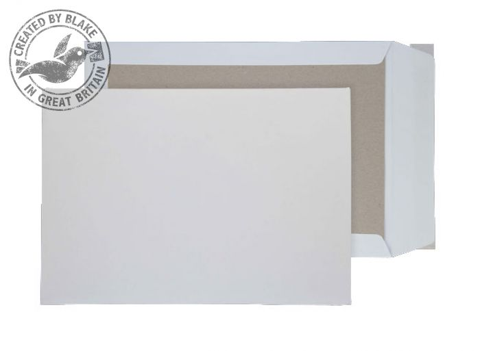 Purely Packaging Envelope Board Backed P&S 120gsm C3 White Ref 5200 [Pack 100] *3 to 5 Day Leadtime*