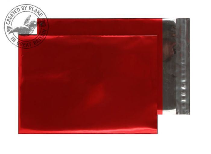 Purely Packaging Foil Pocket P&S 70 Mic 324x229mm Met Red Ref MF906 [Pack 250] *3 to 5 Day Leadtime*