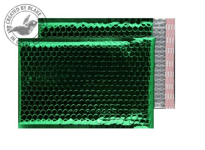 Purely Packaging Bubble Envelope P&S C5+ Metallic Green Ref MBGRE250 [Pk100] *3 to 5 Day Leadtime*