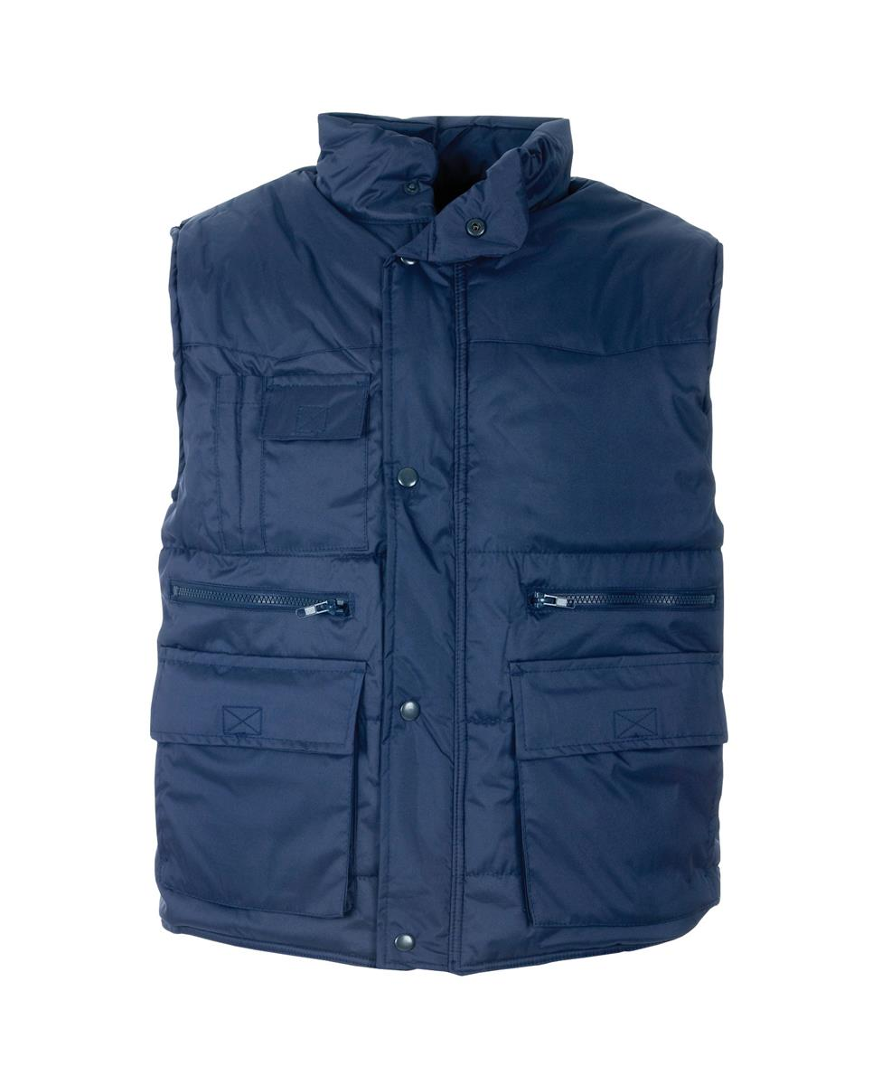 Supertouch Body Warmer with Multi Pockets XXXLarge Navy (Pack of 1)